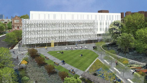 Neural and Behavioral Sciences Building
